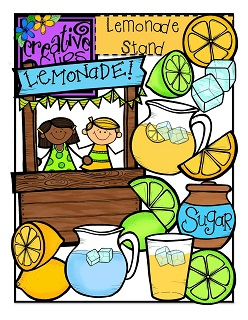 Lemonade Stand clip art from creative Chalkboard